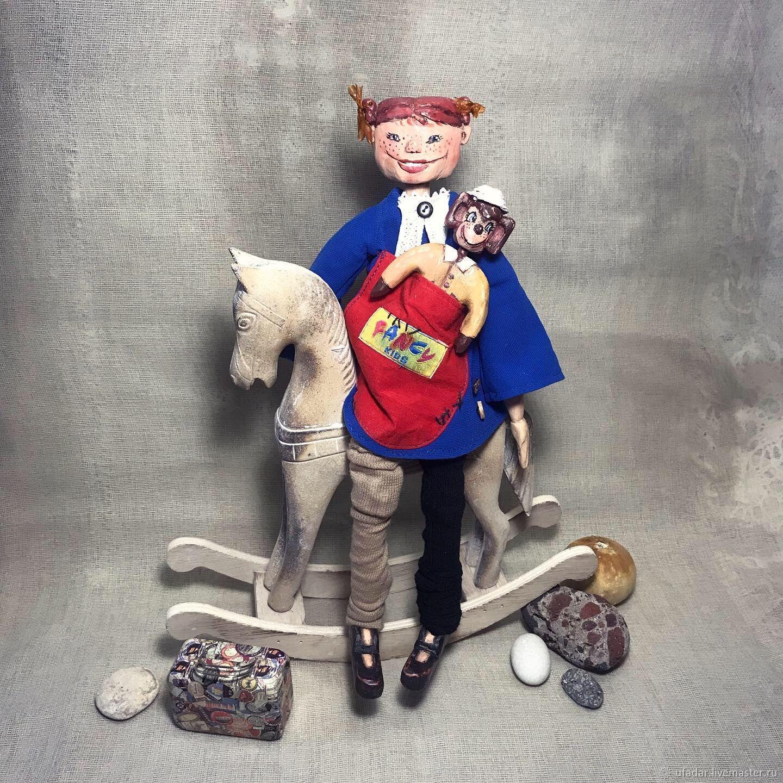 Пеппи Длинныйчулок, Куклы и пупсы, Иглино,  Фото №1