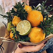 Букеты ручной работы. Ярмарка Мастеров - ручная работа Вкусный букет.Orange small.. Handmade.