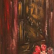 Картины и панно ручной работы. Ярмарка Мастеров - ручная работа тайны ночного города. Handmade.