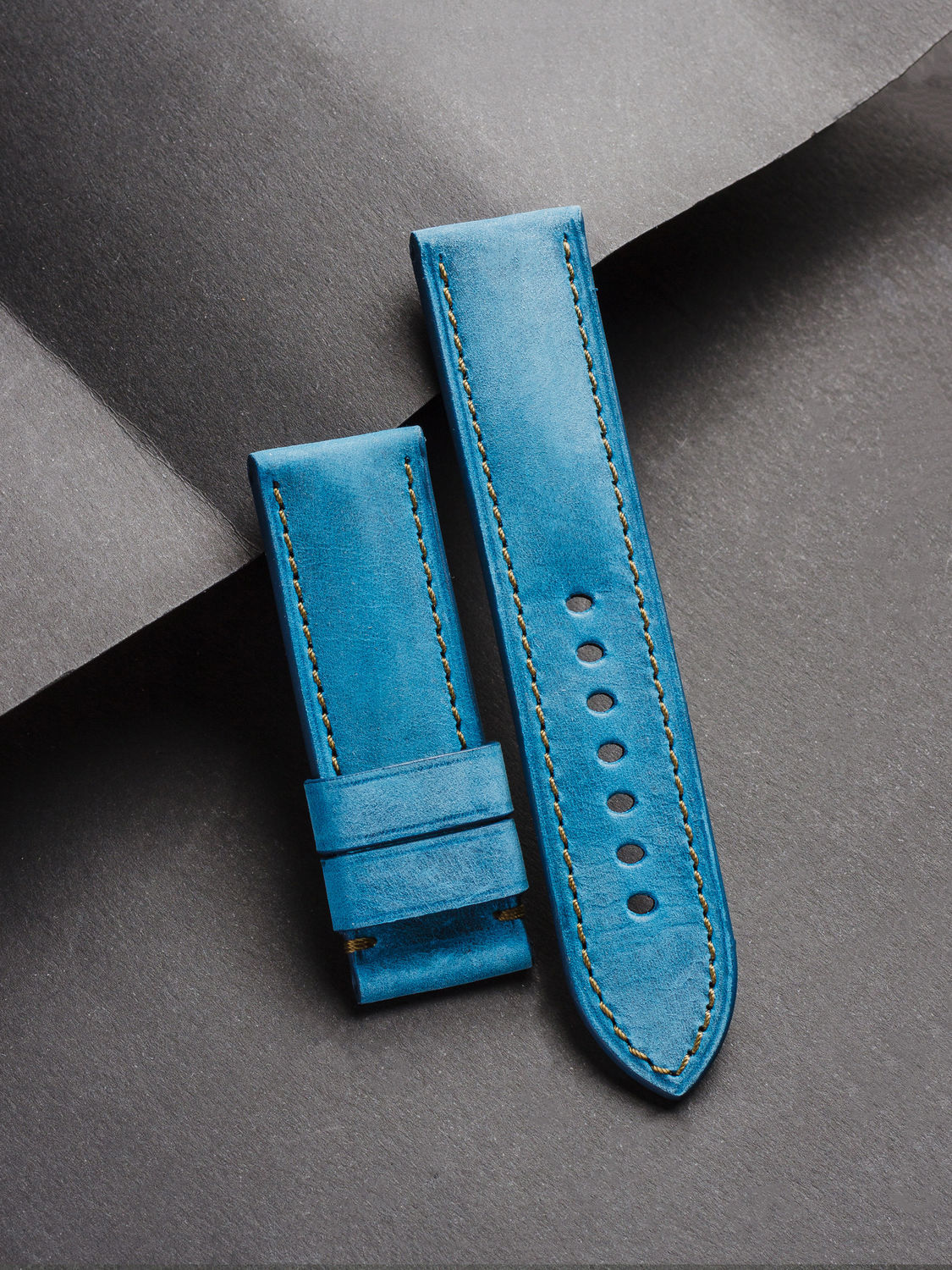 Calf leather watchband (16), Watch Straps, St. Petersburg,  Фото №1