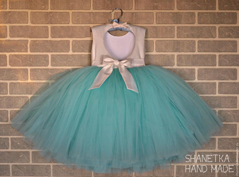 Платье для девочки с фатиновой юбкой сшить 2