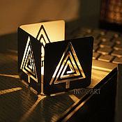 Подарки к праздникам handmade. Livemaster - original item Candle holder