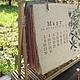 Desk calendar 'Medicinal herbs' for 2015. Calendars. Handmade paper by Alla Vittenberg. Online shopping on My Livemaster.  Фото №2