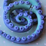 Украшения handmade. Livemaster - original item Faux-stretch pastel colours of the Tentacles. Handmade.