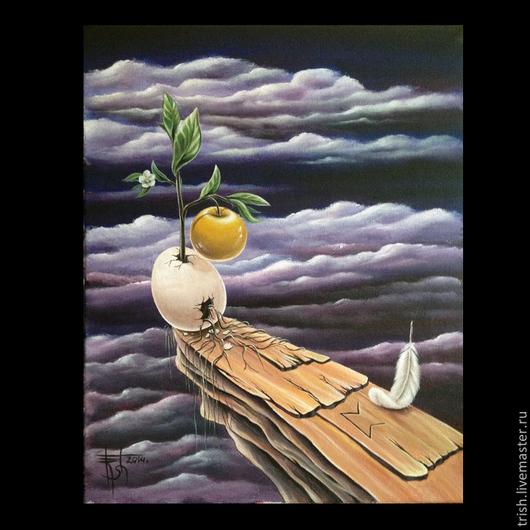 Авторская интерпретация рунической картины `Безвременье. Пертро`