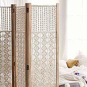Для дома и интерьера ручной работы. Ярмарка Мастеров - ручная работа Ширма декоративная плетёная. Handmade.