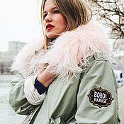 Одежда handmade. Livemaster - original item The transformer jacket spring-summer. Olive.. Handmade.
