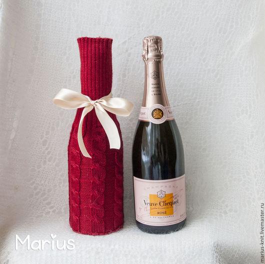 Подарок на новый год, новогодний подарок, праздник,праздничный,чехол на бутылку