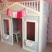 Для дома и интерьера ручной работы. Ярмарка Мастеров - ручная работа №11. Кроватка-домик. Handmade.