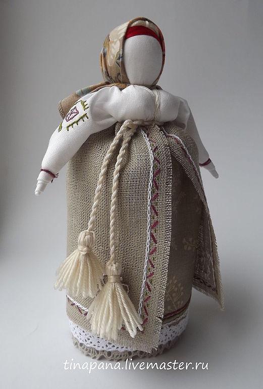 """Народные куклы ручной работы. Ярмарка Мастеров - ручная работа. Купить """"Достаточница"""" авторская кукла. Handmade. Народная кукла, хлопок"""