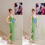 Одежда ручной работы. Ярмарка Мастеров - ручная работа Платье Мандала. Handmade.