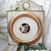 """Для дома и интерьера ручной работы. Ярмарка Мастеров - ручная работа Ключница """"Я мышка-норушка, а ты кто?!"""". Handmade."""