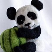 Куклы и игрушки ручной работы. Ярмарка Мастеров - ручная работа Пандочка. Handmade.