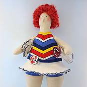 Куклы и игрушки ручной работы. Ярмарка Мастеров - ручная работа Тильда толстушка пляжница Тамара. Handmade.