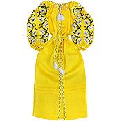 "Одежда handmade. Livemaster - original item Embroidered dress ""Lily Fragrance"". Handmade."