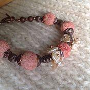 Bracelet set handmade. Livemaster - original item Set of bracelet and earrings,