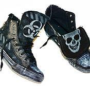 Обувь ручной работы. Ярмарка Мастеров - ручная работа КЕДЫ ручной работы . CUSTOM SNEAKERS. Handmade.
