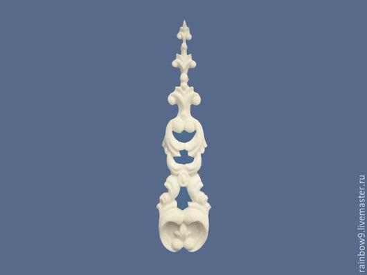 Мебельный резной декор, декоративные резные накладки для  мебели