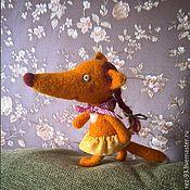 Куклы и игрушки ручной работы. Ярмарка Мастеров - ручная работа Foxi sister , Лисичка сестричка. Handmade.