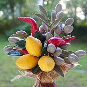 Цветы и флористика handmade. Livemaster - original item Vegetable bouquet