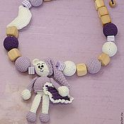 """Одежда ручной работы. Ярмарка Мастеров - ручная работа Слингобусы с игрушкой """"Сиреневые сны"""". Handmade."""
