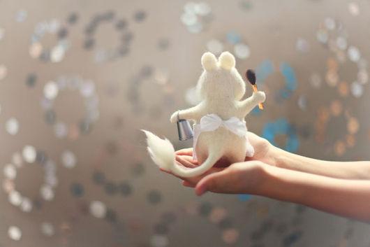 Игрушки животные, ручной работы. Ярмарка Мастеров - ручная работа. Купить Муми-мама. Handmade. Белый, игрушка ручной работы