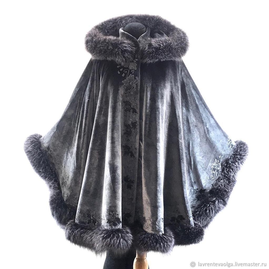 длинное с мехом и вышивкой, Пальто, Москва,  Фото №1