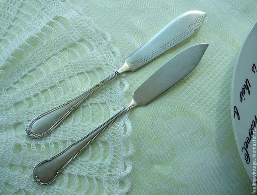 Винтажная посуда. Ярмарка Мастеров - ручная работа. Купить Атикварные ножи для масла, Германия, начало ХХ века.. Handmade.