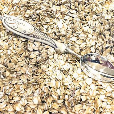 Свадебный салон ручной работы. Ярмарка Мастеров - ручная работа Серебряная чайная ложка c керамической ручкой (вставкой). Ag 925. Handmade.
