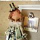 Человечки ручной работы. - - - PaRiS - - -. - - - - - NOLA  STYLE. Интернет-магазин Ярмарка Мастеров. Париж, сувенирная кукла, тильды, оригинальный сувенир