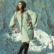 Одежда ручной работы. Ярмарка Мастеров - ручная работа Фолк-платье Light. Handmade.