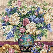 """Картины и панно ручной работы. Ярмарка Мастеров - ручная работа Вышитая картина """"Восточное великолепие"""". Handmade."""