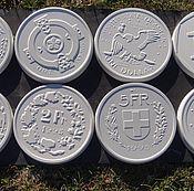 Дизайн и реклама ручной работы. Ярмарка Мастеров - ручная работа Монеты мира (мрамор из бетона). Handmade.