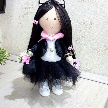Куклы и игрушки ручной работы. Ярмарка Мастеров - ручная работа Тильды: Девочка портретная кукла. Handmade.