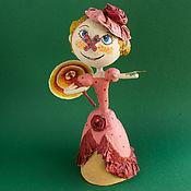"""Куклы и пупсы ручной работы. Ярмарка Мастеров - ручная работа """"Тюлипа""""-коллекционная арт-кукла из папье-маше. Handmade."""