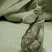 Для дома и интерьера ручной работы. Ярмарка Мастеров - ручная работа Волчище-мужичек. Handmade.