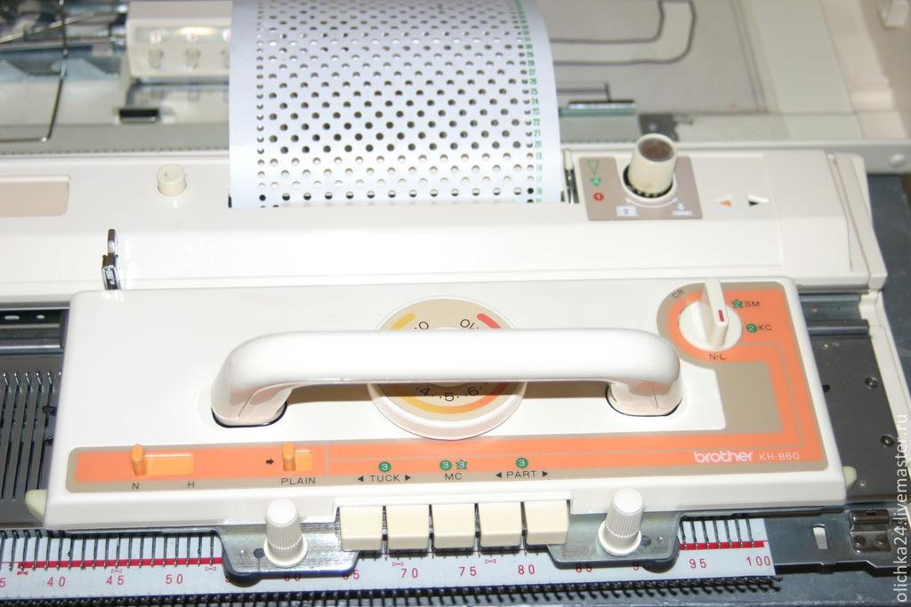 двухфантурная вязальная машина бразер кн 860830 купить в интернет