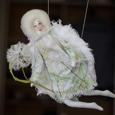 Dolls & toys handmade. Livemaster - original item Doll: Angel with dandelion. Handmade.