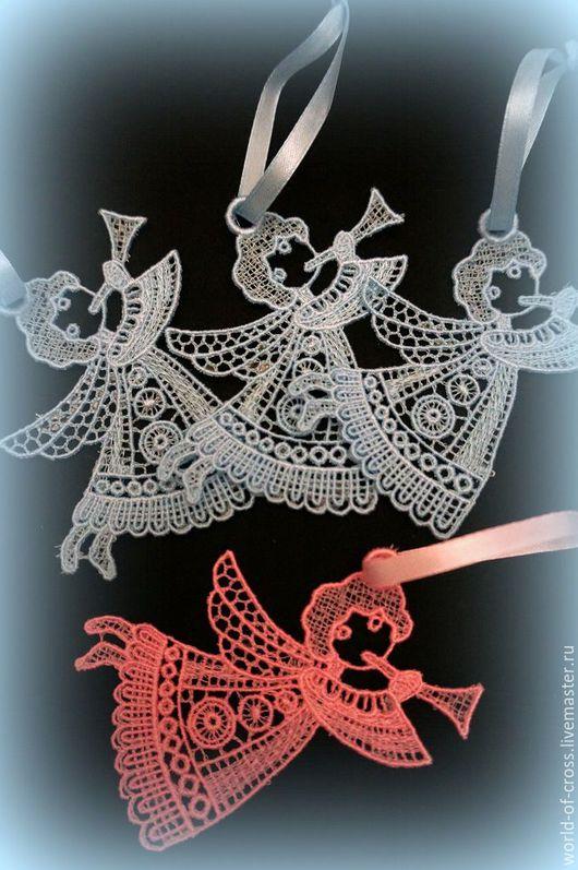 Подвески ручной работы. Ярмарка Мастеров - ручная работа. Купить Подвеска Ангелочек с дудочкой. Handmade. Комбинированный, ангелочек, ангелы, ангелок
