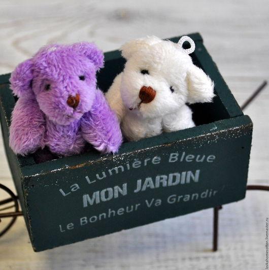 Мишка для куклы, 6 см, 2 цвета