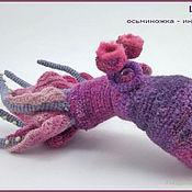 Куклы и игрушки ручной работы. Ярмарка Мастеров - ручная работа Осьминожка Циркуль. Handmade.