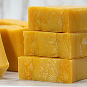 Косметика ручной работы handmade. Livemaster - original item Soap natural sea Buckthorn and honey. Handmade.