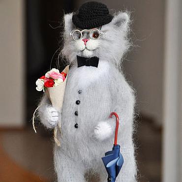Куклы и игрушки ручной работы. Ярмарка Мастеров - ручная работа Мистер КОТ. Handmade.