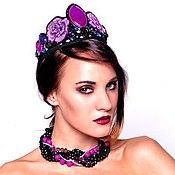 Украшения ручной работы. Ярмарка Мастеров - ручная работа Корона, диадема, ободок в стиле Dolce Gabbana. Handmade.