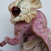 Куклы и игрушки ручной работы. Ярмарка Мастеров - ручная работа Большая розовая. Handmade.