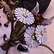 Для дома и интерьера ручной работы. Ярмарка Мастеров - ручная работа Кованые цветы для любимой. Handmade.