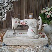 """Для дома и интерьера handmade. Livemaster - original item """"ROSE""""-детская швейная машинка. Handmade."""