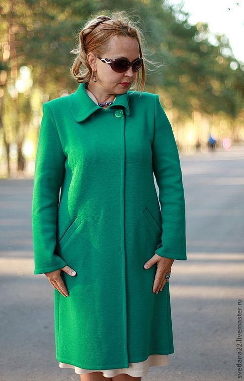 """Верхняя одежда ручной работы. Ярмарка Мастеров - ручная работа. Купить Вязаный кардиган""""Зеленый лес-2"""". Handmade. Тёмно-зелёный"""