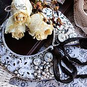 Украшения ручной работы. Ярмарка Мастеров - ручная работа Воротничок-колье Версаль вышивка бисером. Handmade.