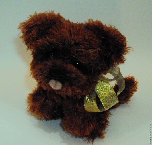 Куклы и игрушки ручной работы. Ярмарка Мастеров - ручная работа. Купить Щеночек чау чау Шоколадка. Handmade.